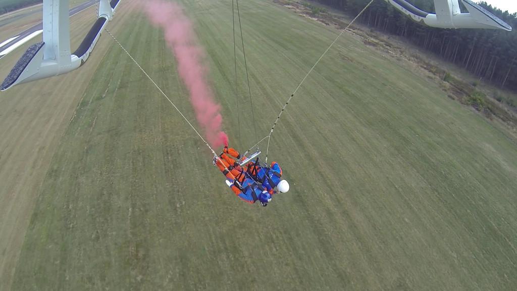 Heli-Bodyflying in Deutschland