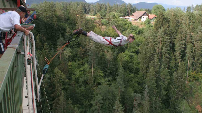Bungee Jumping Jauntal in Österreich