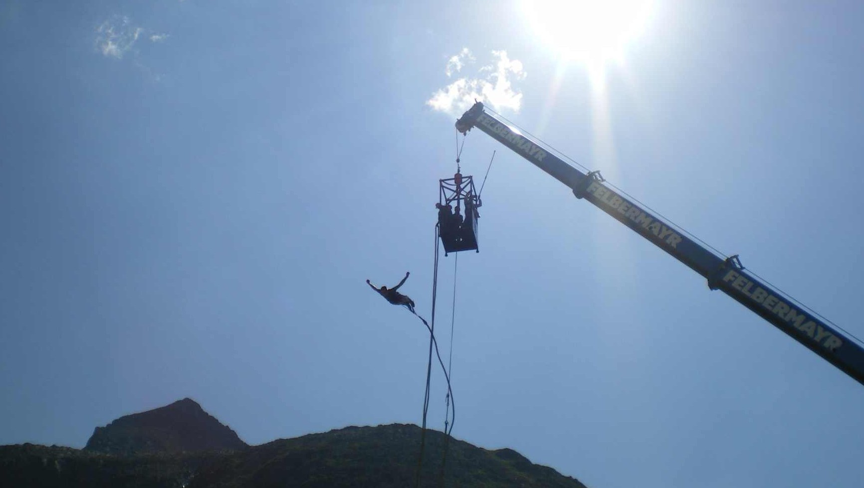 Bungee Jumping Deutschalnd mit den Sprungteufel, Bungy Jumping Österreich